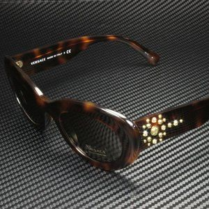Versace Havana Brown Sunglasses! NEW!